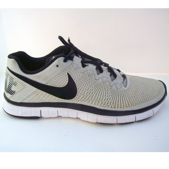 Nike Free Trainer 3.0 Running Shoe Gray/Black Mens